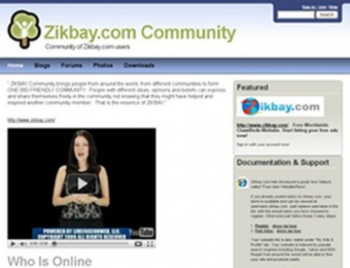 Community Forums site for Zikbay
