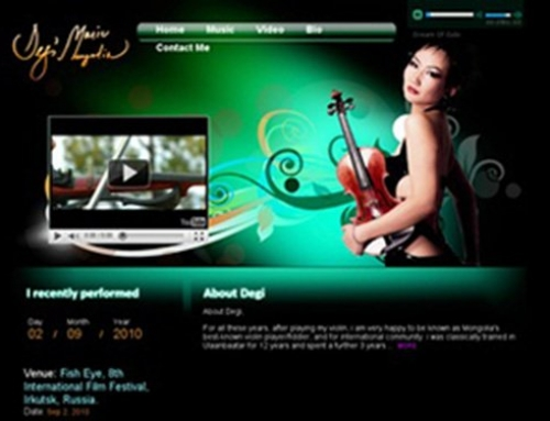 DegiMusic.net – Top Musician in Mongolia