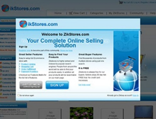ZikStores.com – Ecommerce Shopping Mall