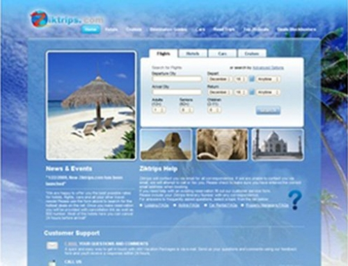 ZikTrips.com – Travel Website