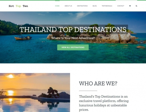 HotTopTen.com – Travel Site for SE Asia