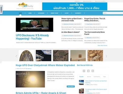 ETDaily.com – Daily UFO/ET News Community Website